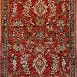 Antique Persian Sarouk 100% Wool Pile.