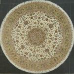 Masterpiece Persian Tabriz silk/wool  10' Diameter.