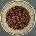 Super Fine Chinese Tabriz silk/wool 9' Diameter.