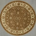 Super Fine Indian Tabriz Silk and Wool 8' x 8'